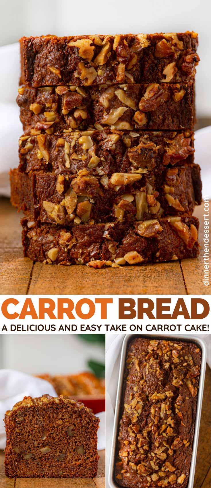 Carrot Bread Recipe So Moist Tender Easy Dinner Then Dessert
