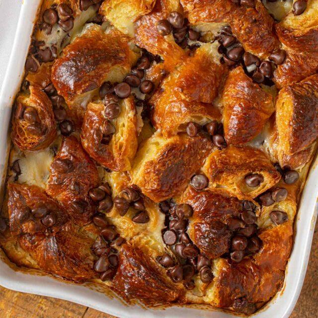 Chocolate Croissant Bake