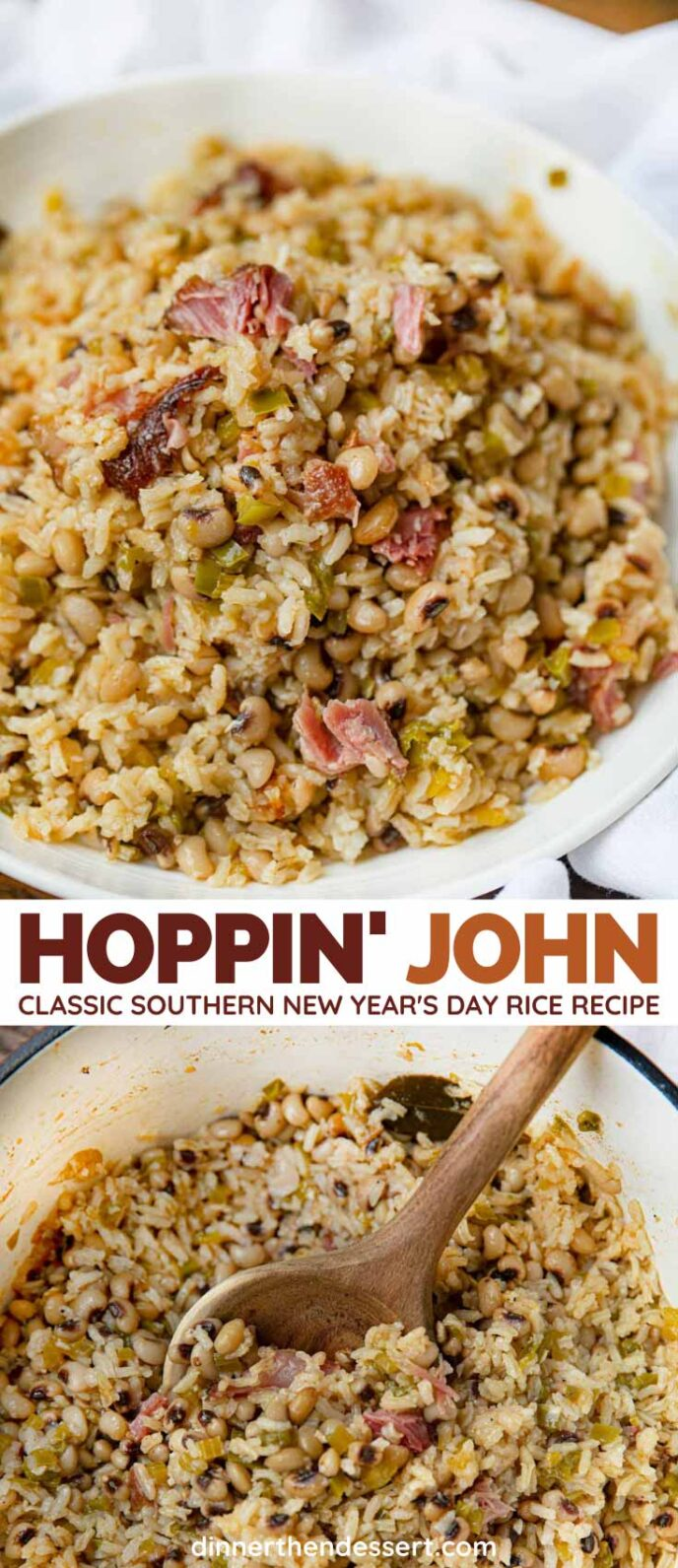 Hoppin' John collage
