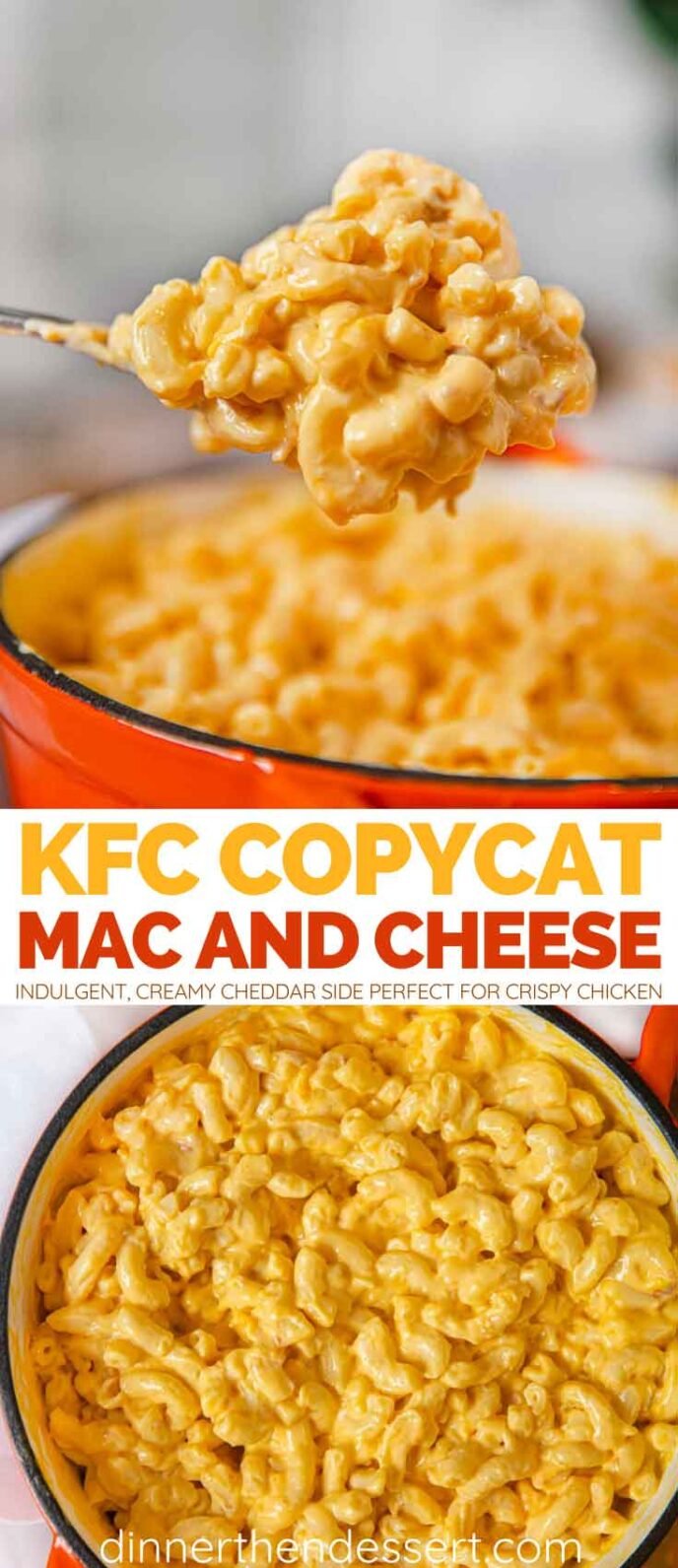 KFC Macaroni and Cheese collage