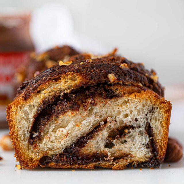 Nutella Bread Sliced