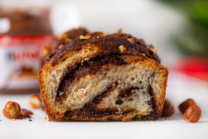 Nutella Bread Recipe Scratch Pre Made Recipes Dinner Then