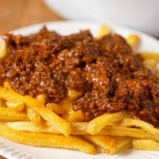 Tommy's Chili on french fries
