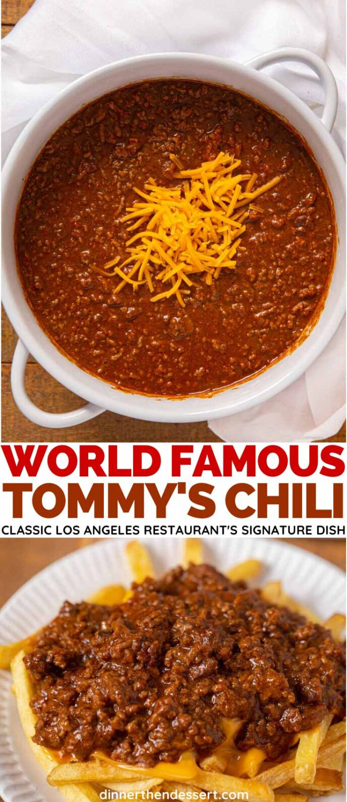 Tommy S Chili Copycat Recipe Dinner Then Dessert