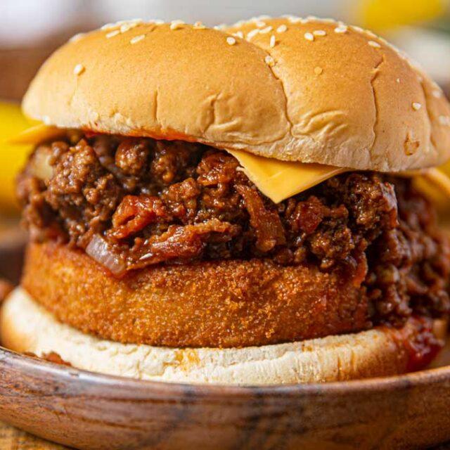 Western Bacon Cheeseburger Sloppy Joes