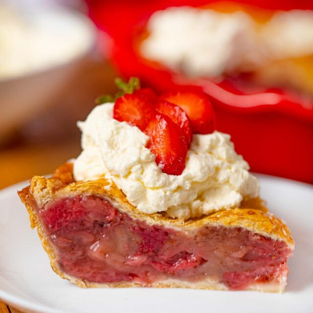 Slice of Strawberry Pie