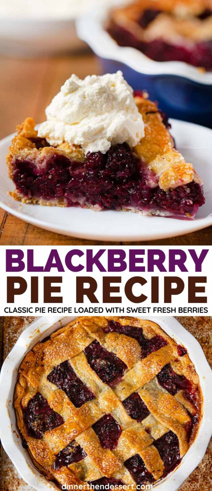 Blackberry Pie collage