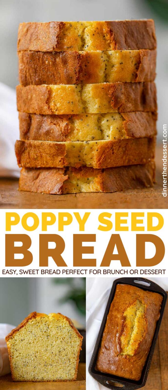 Poppy Seed Bread collage