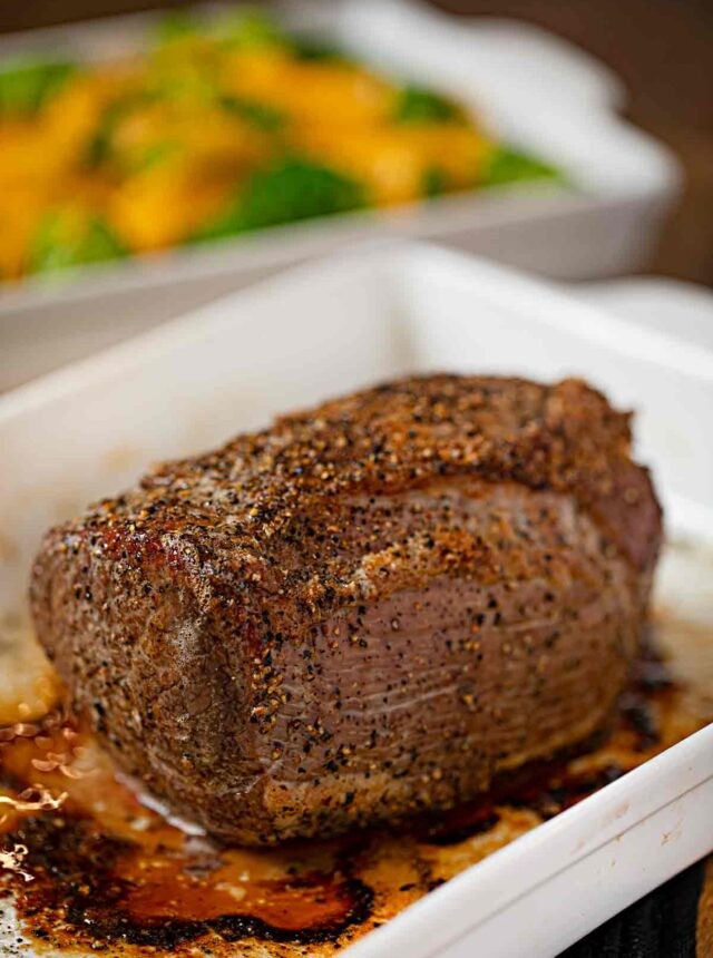Pepper Crusted Roast Beef
