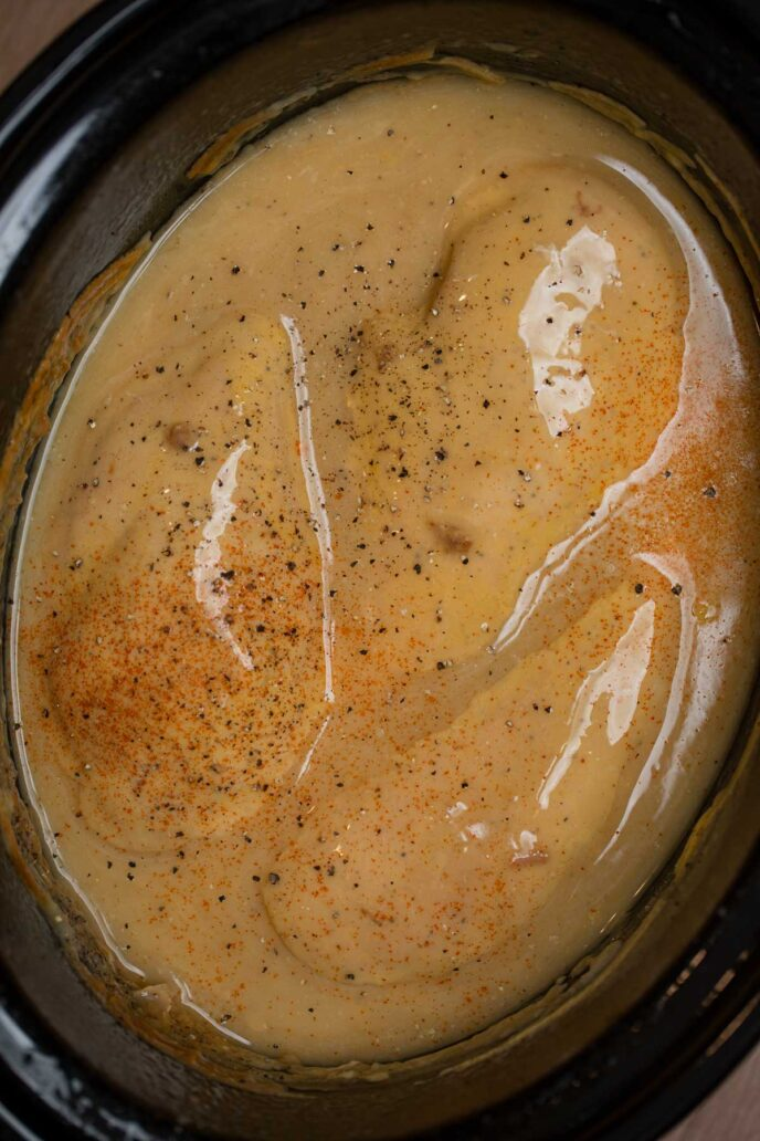 Cooked Chicken in Gravy