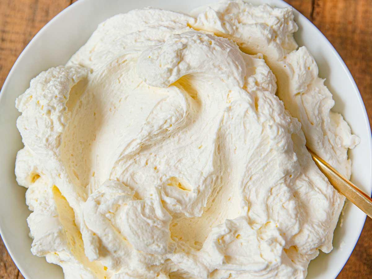 Stabilized Whipped Cream W Cream Cheese Recipe Dinner Then Dessert