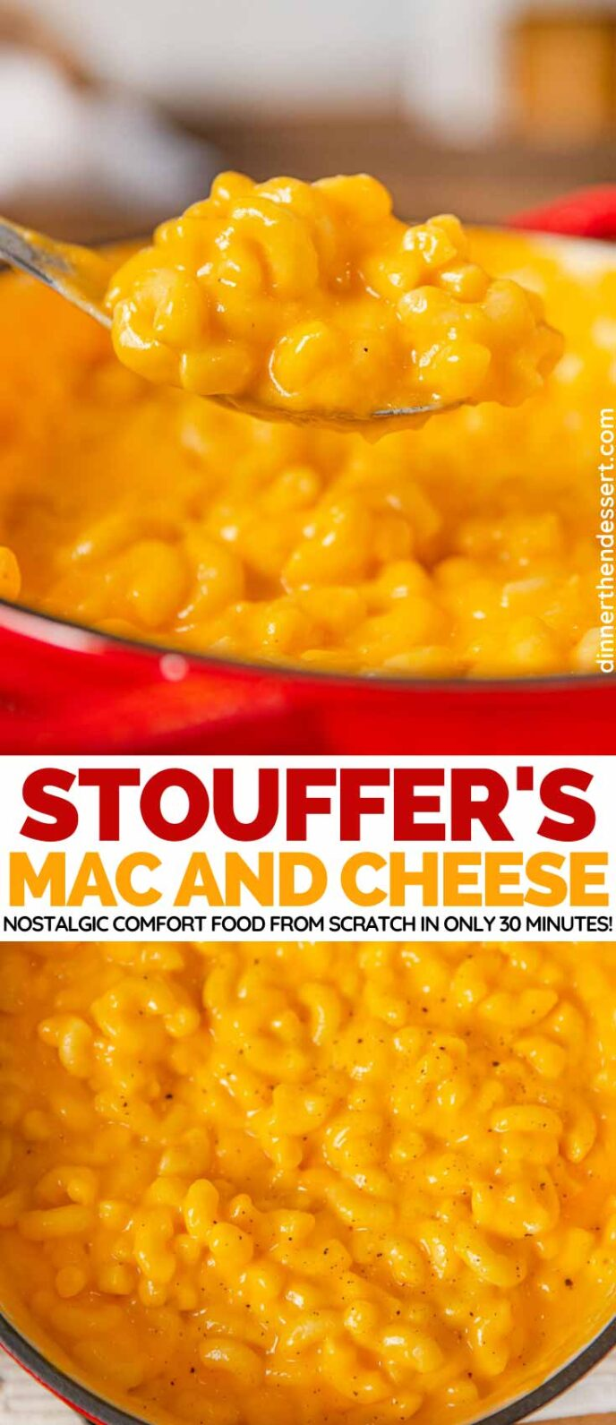 Stouffer's Mac and Cheese Copycat Recipe collage