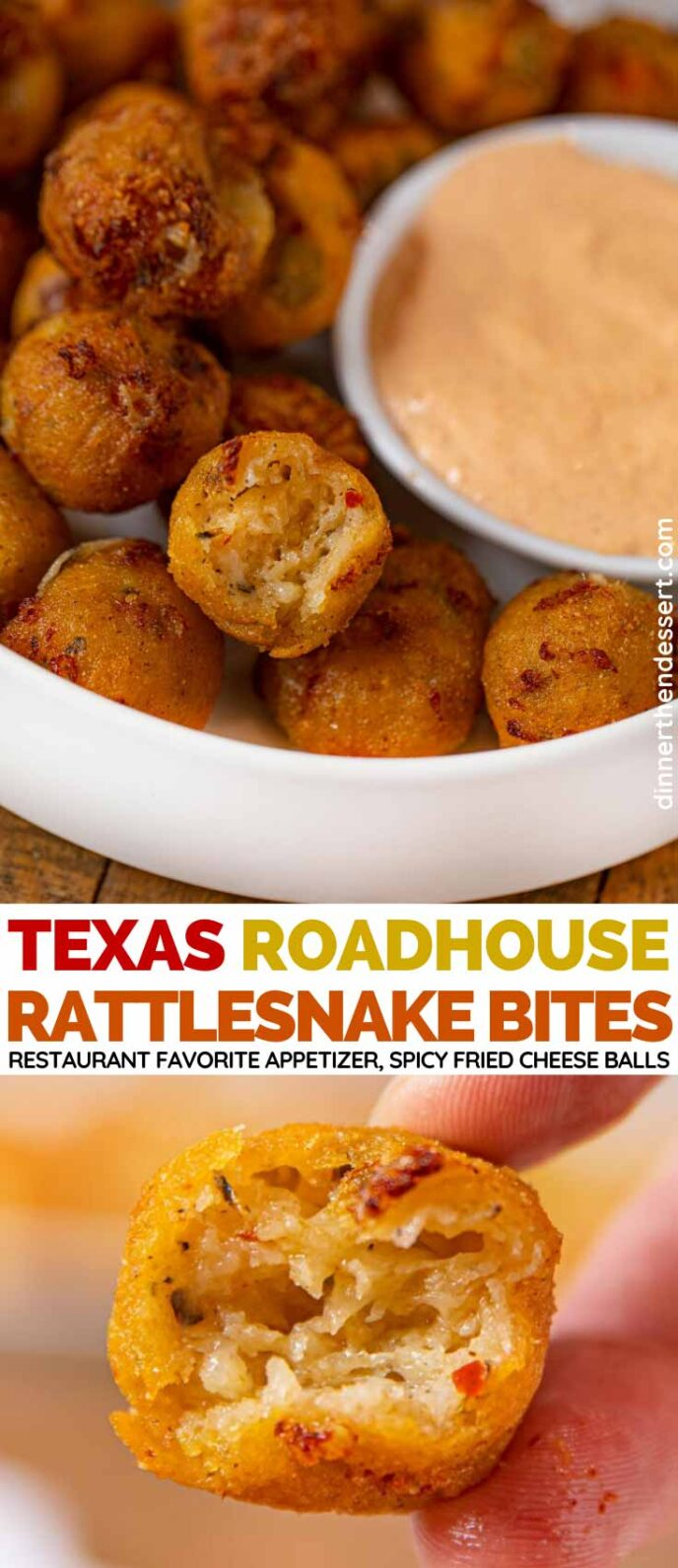 Texas Roadhouse Rattlesnake Bites (Copycat) collage