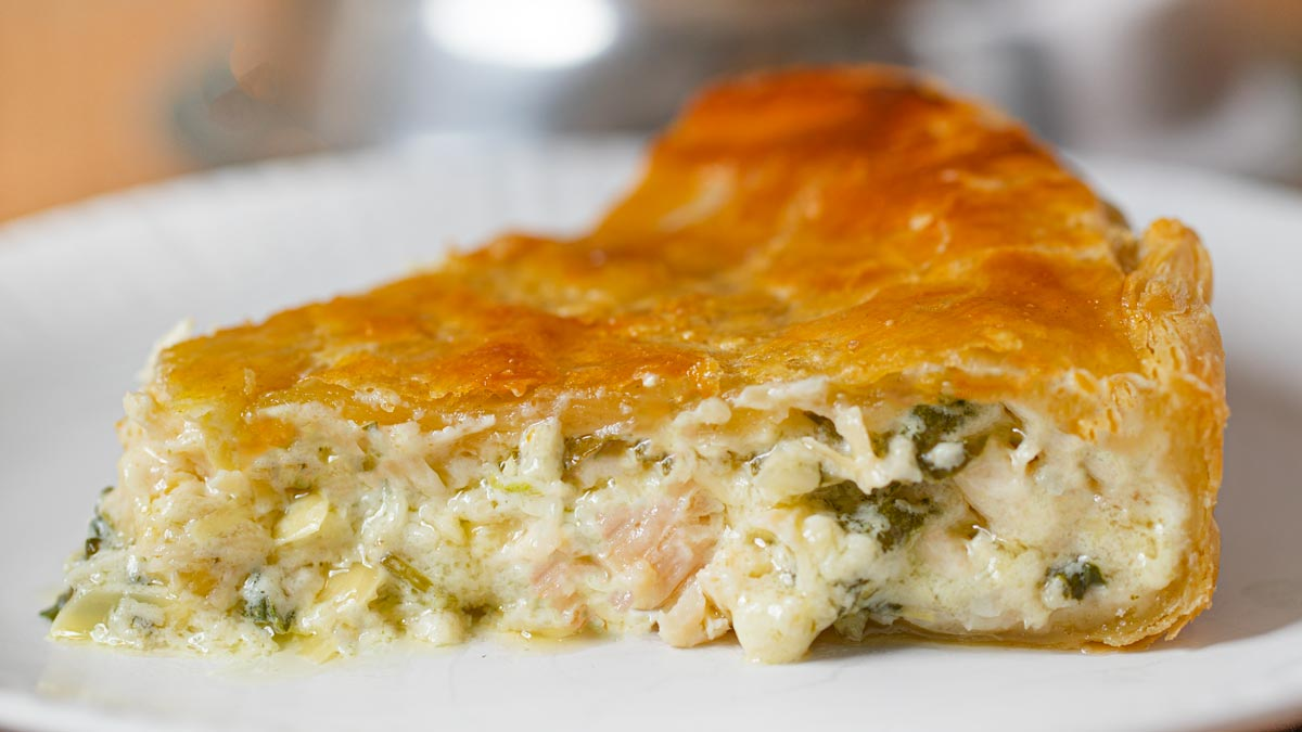 Chicken And Spinach Pie Recipe Dinner Then Dessert