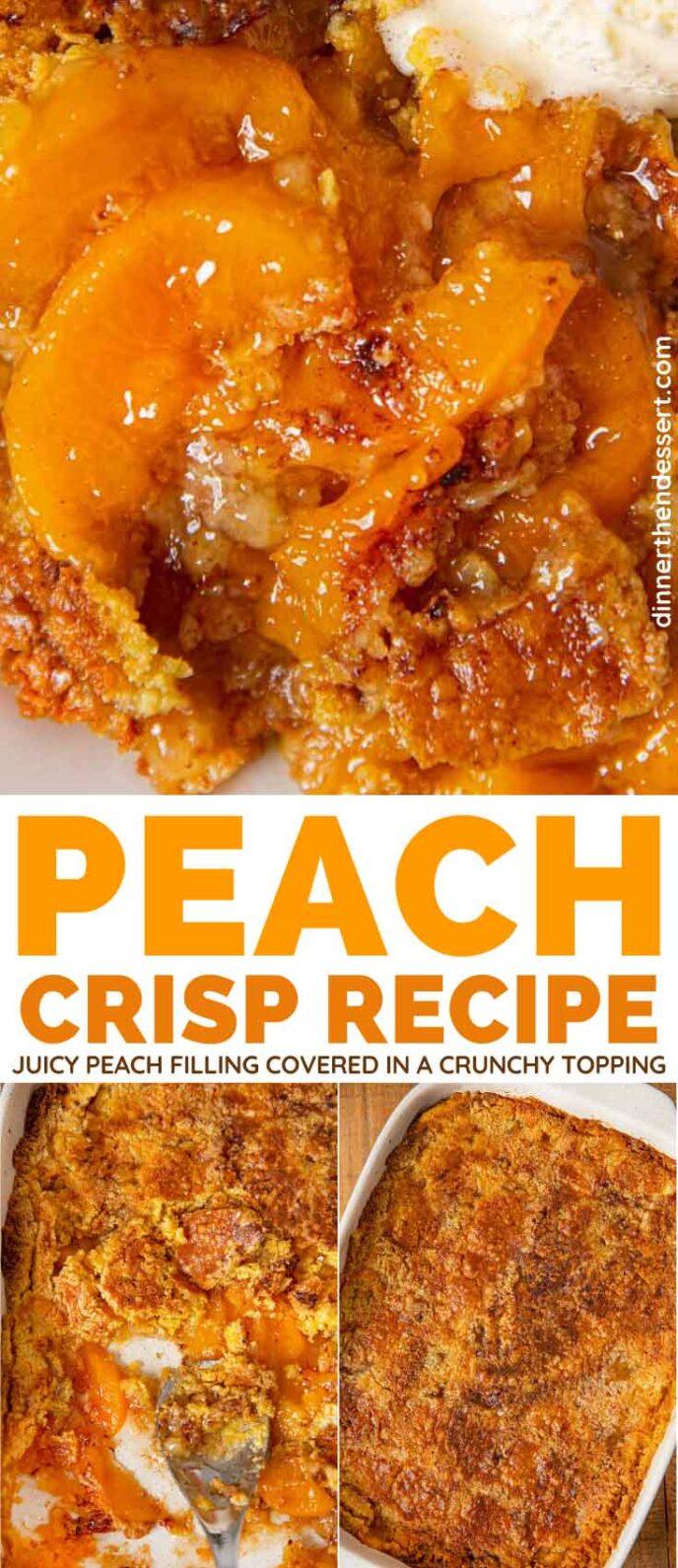 Peach Crisp Collage