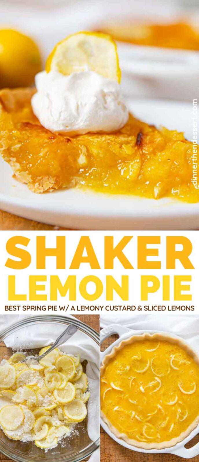 Shaker Lemon Pie collage