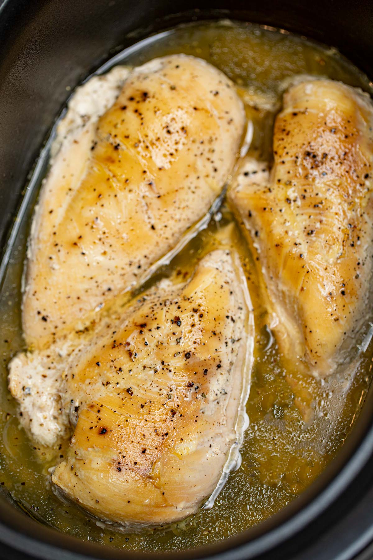 Slow Cooker Chicken Breasts Recipe Not Dry Dinner Then Dessert
