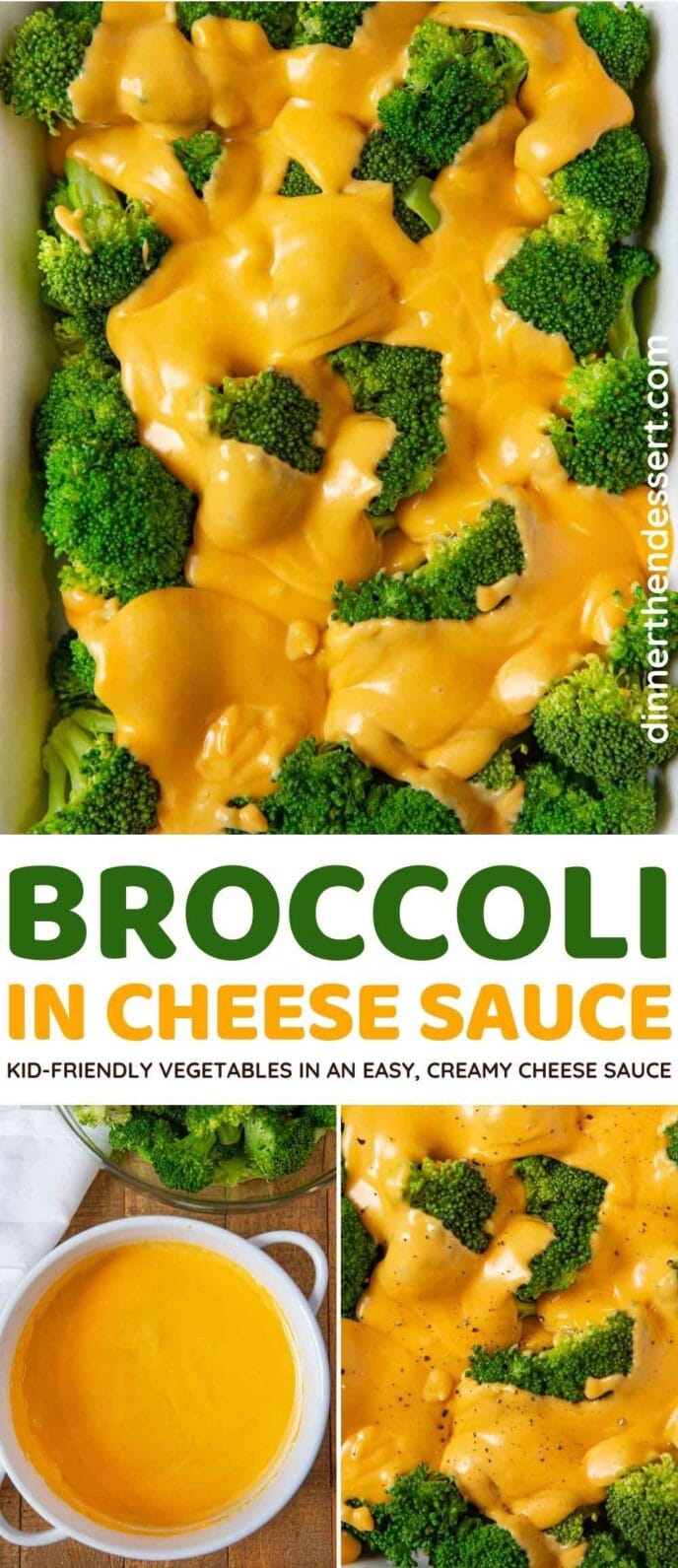 Broccoli in Cheese Saucy collage