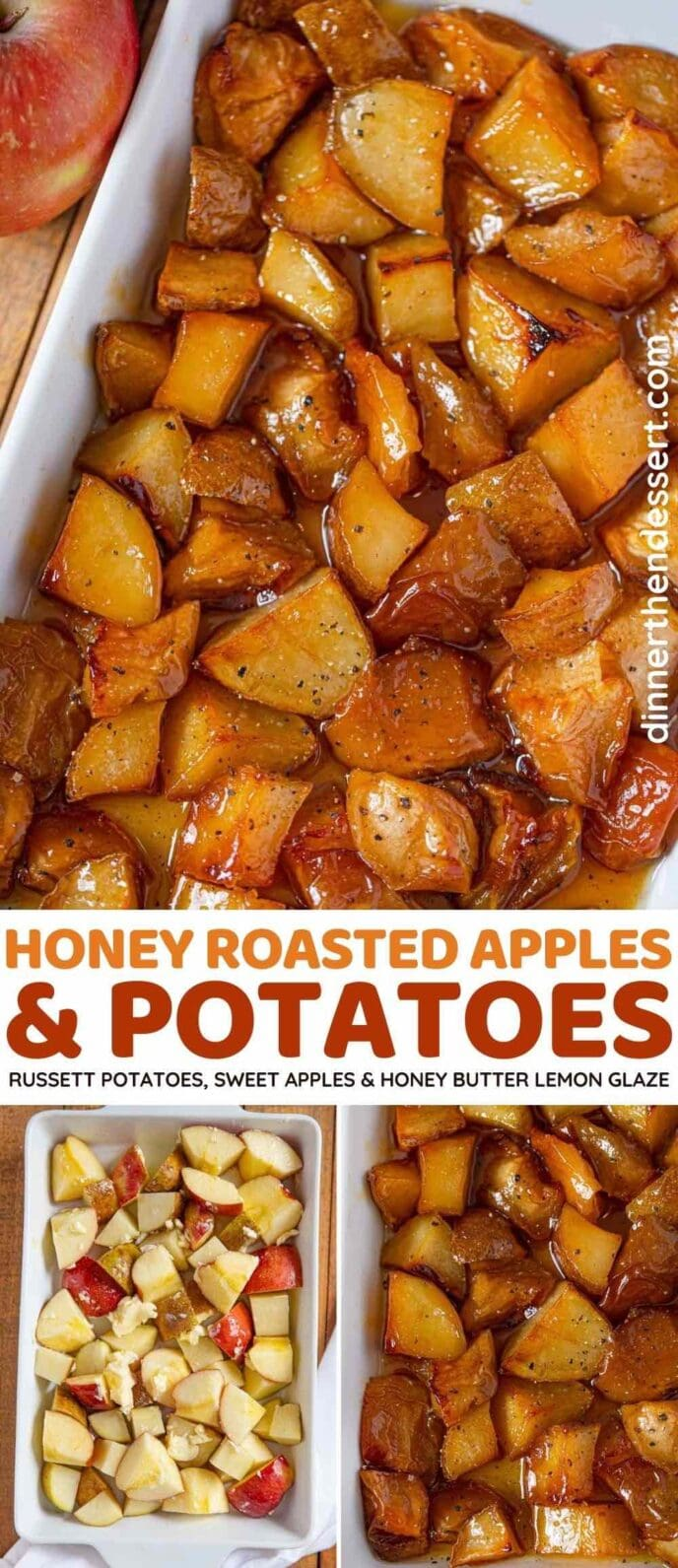 Honey Roasted Potatoes and Apples
