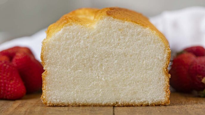 Angel Food Loaf Cake
