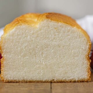 Angel Food Loaf Cake slice
