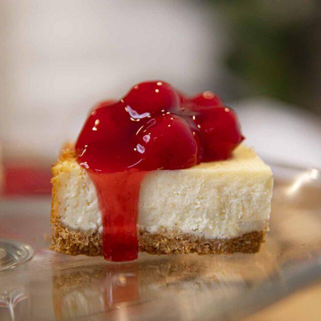 Cherry Cheesecake Bar
