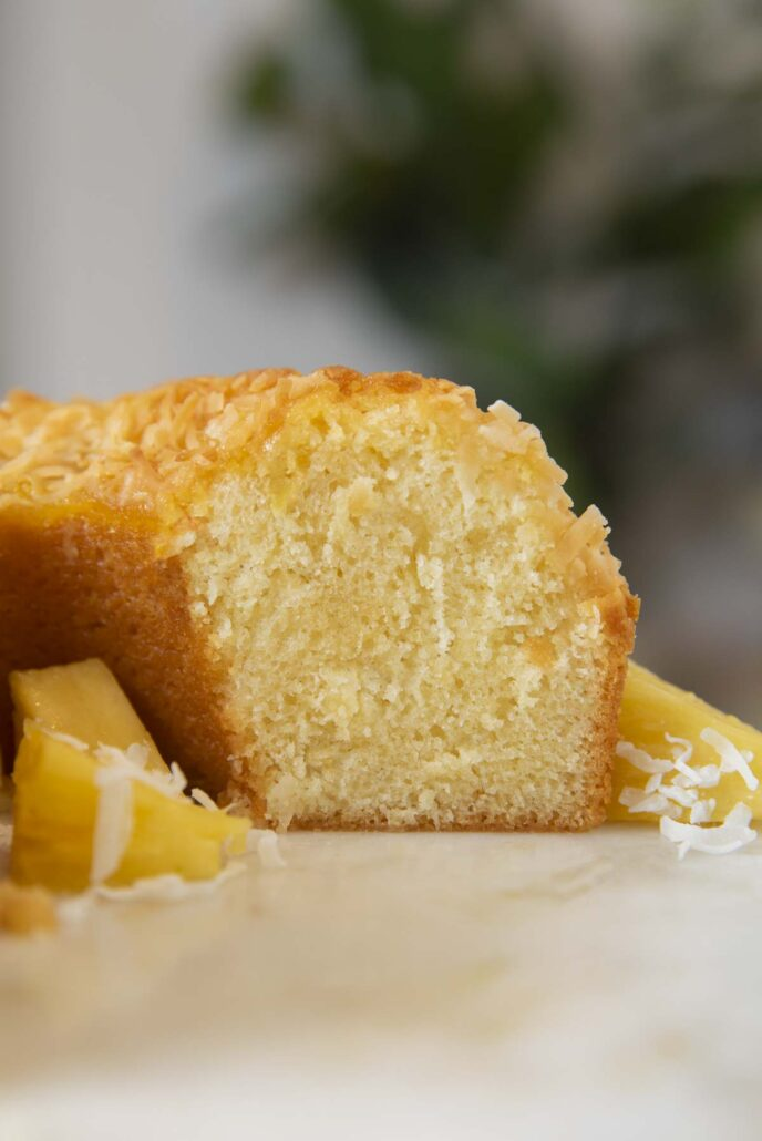 Coconut Pineapple Bundt Cake