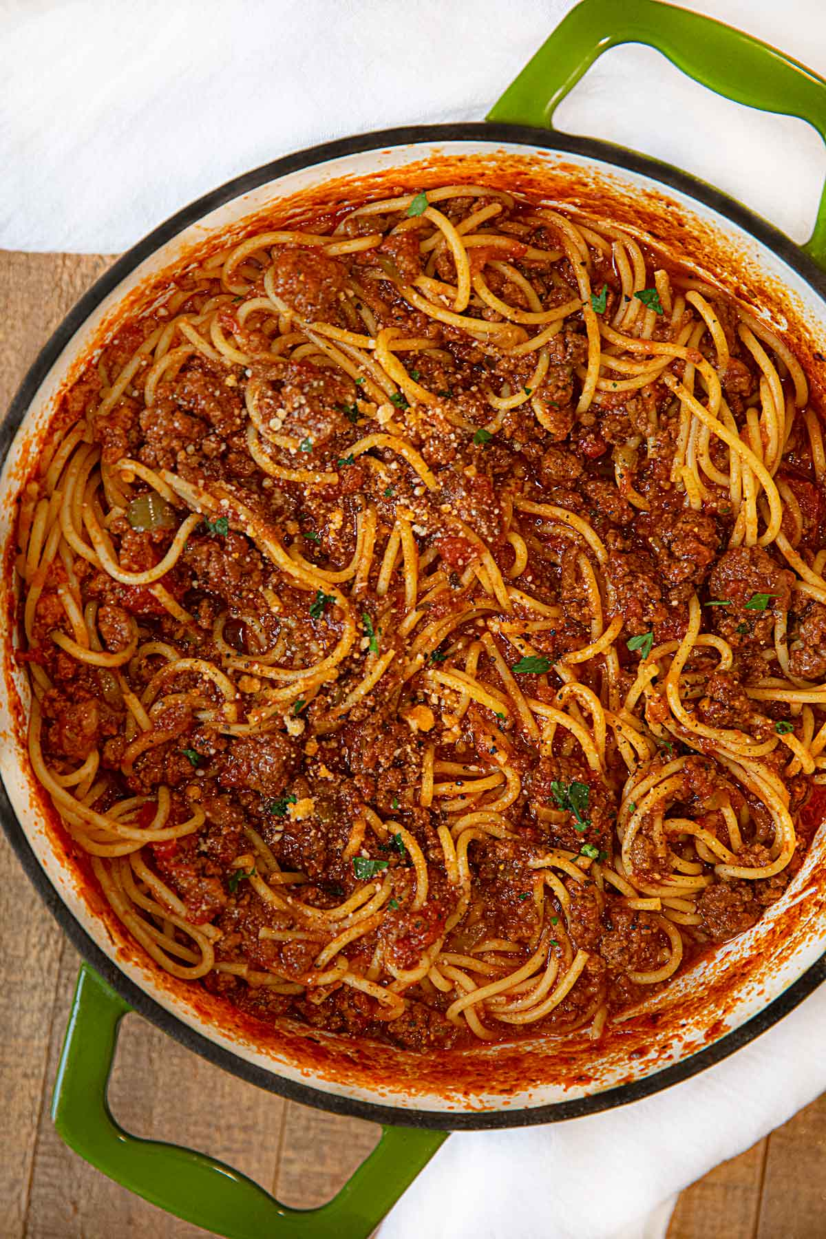 Classic Italian Meat Sauce Recipe Dinner Then Dessert