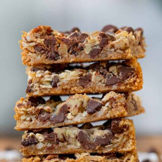 Stack of Five Layer Bars