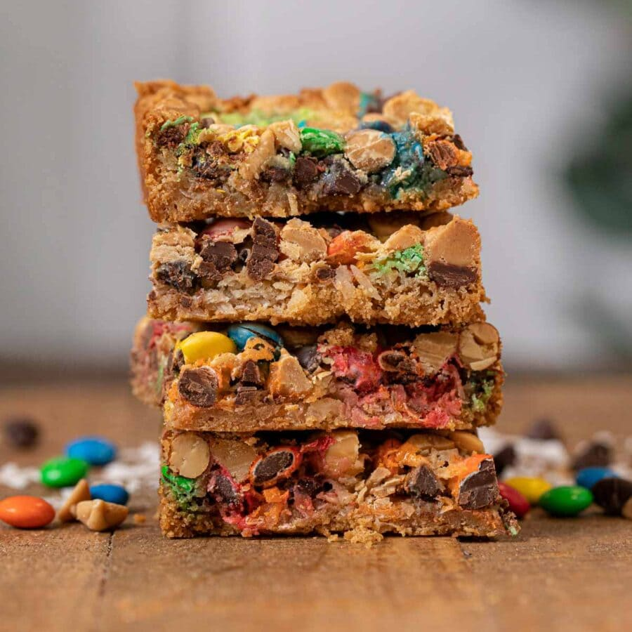 Magic Monster Layer Bars in stack