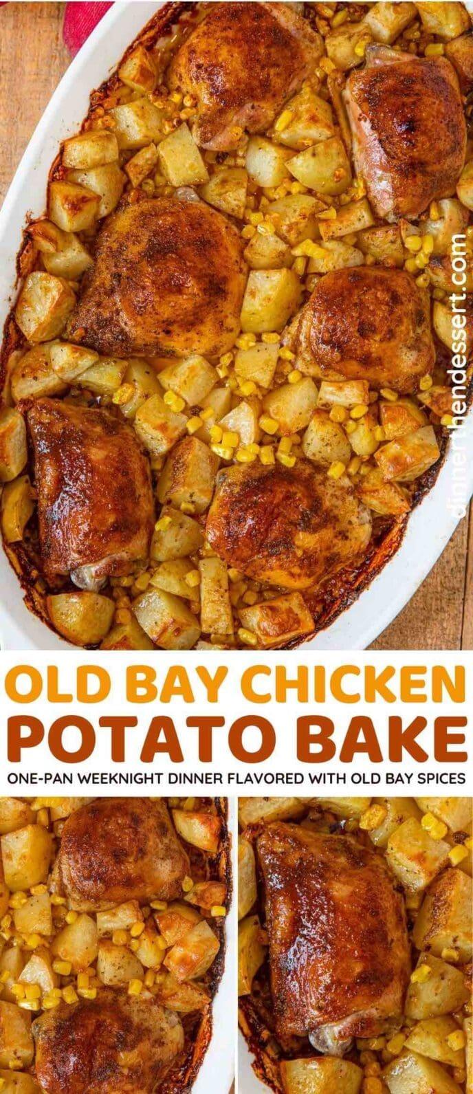 Old Bay Chicken Dinner