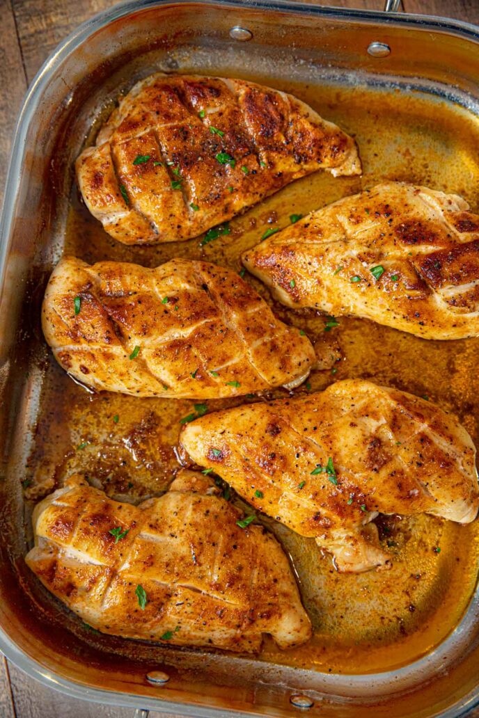 Oven Baked Rotisserie Chicken Breasts