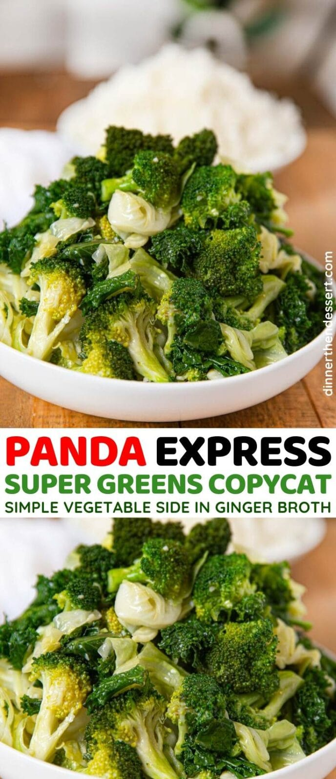 Panda Express Super Greens Copycat collage