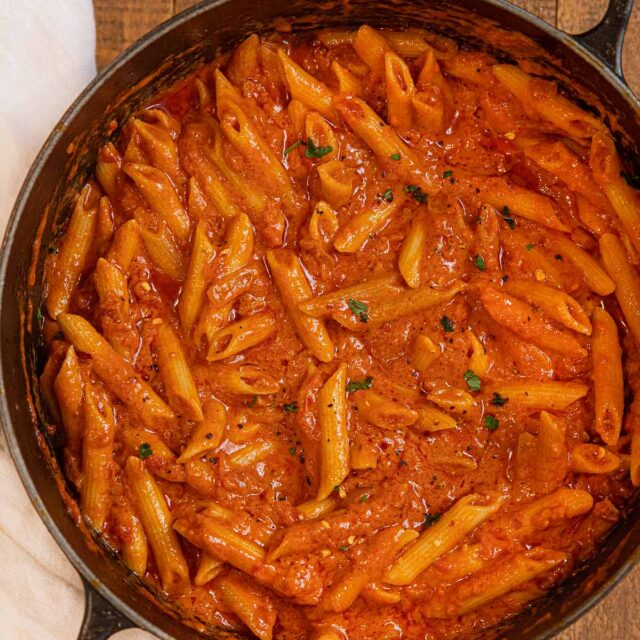 Vodka Sauce with pasta