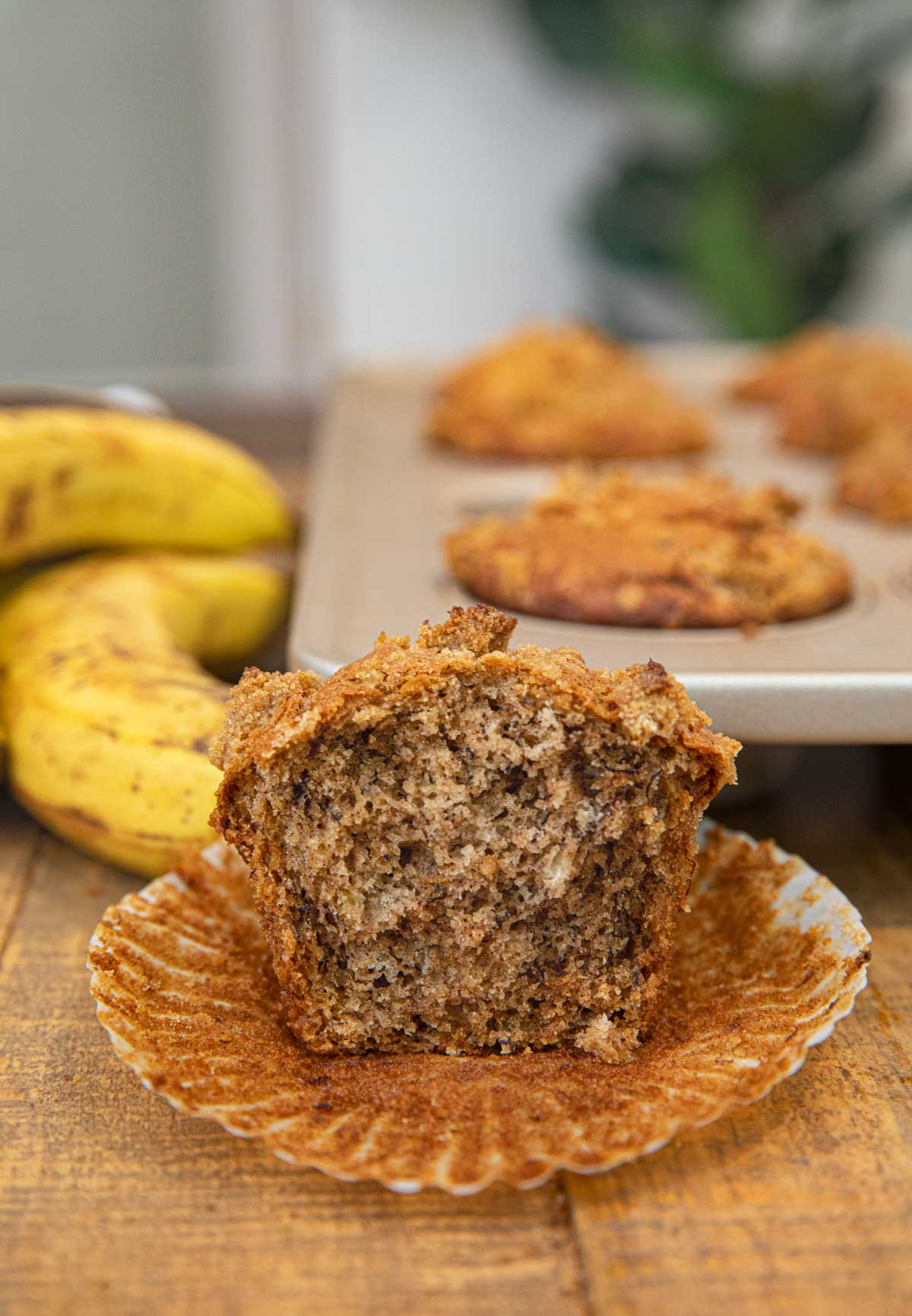 Banana Crumb Muffins Recipe Dinner Then Dessert