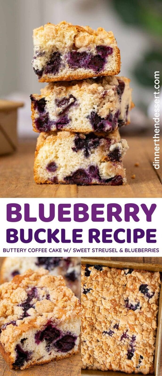 Blueberry Buckle collage