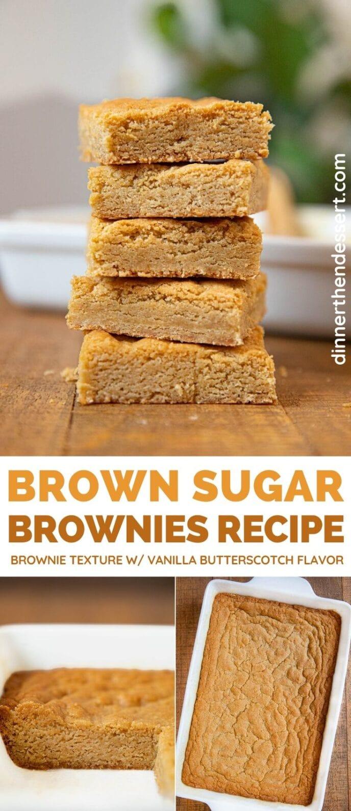 Brown Sugar Brownies collage
