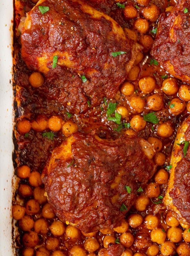 Chicken Tikka Masala Bake in baking dish