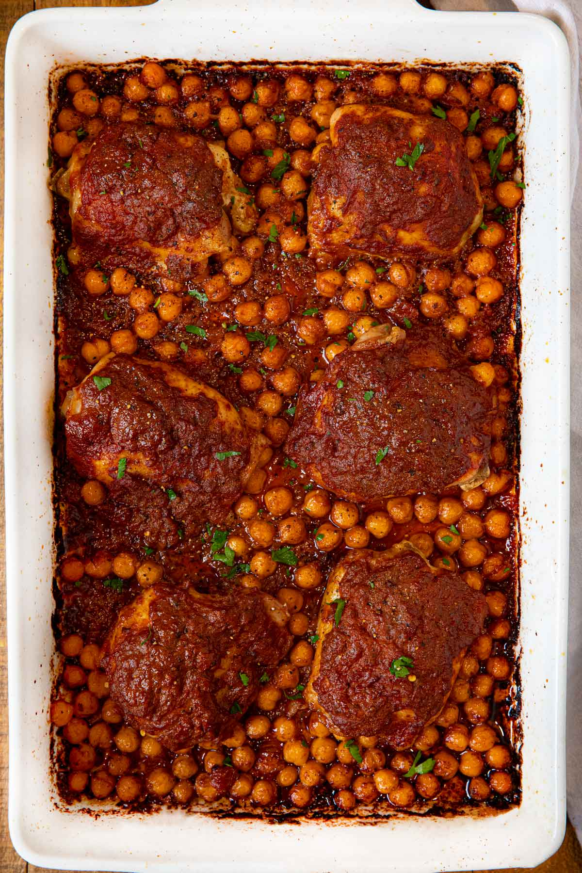 Chicken Tikka Masala Bake in baking dish