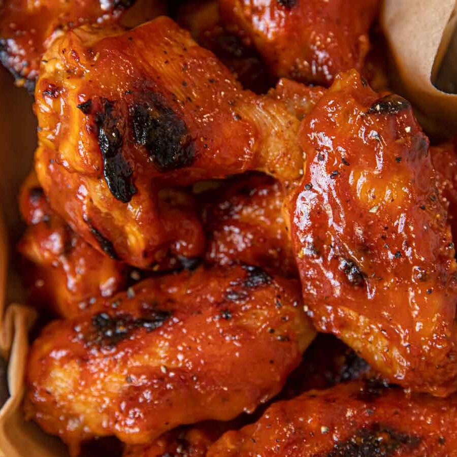Memphis BBQ Chicken Wings
