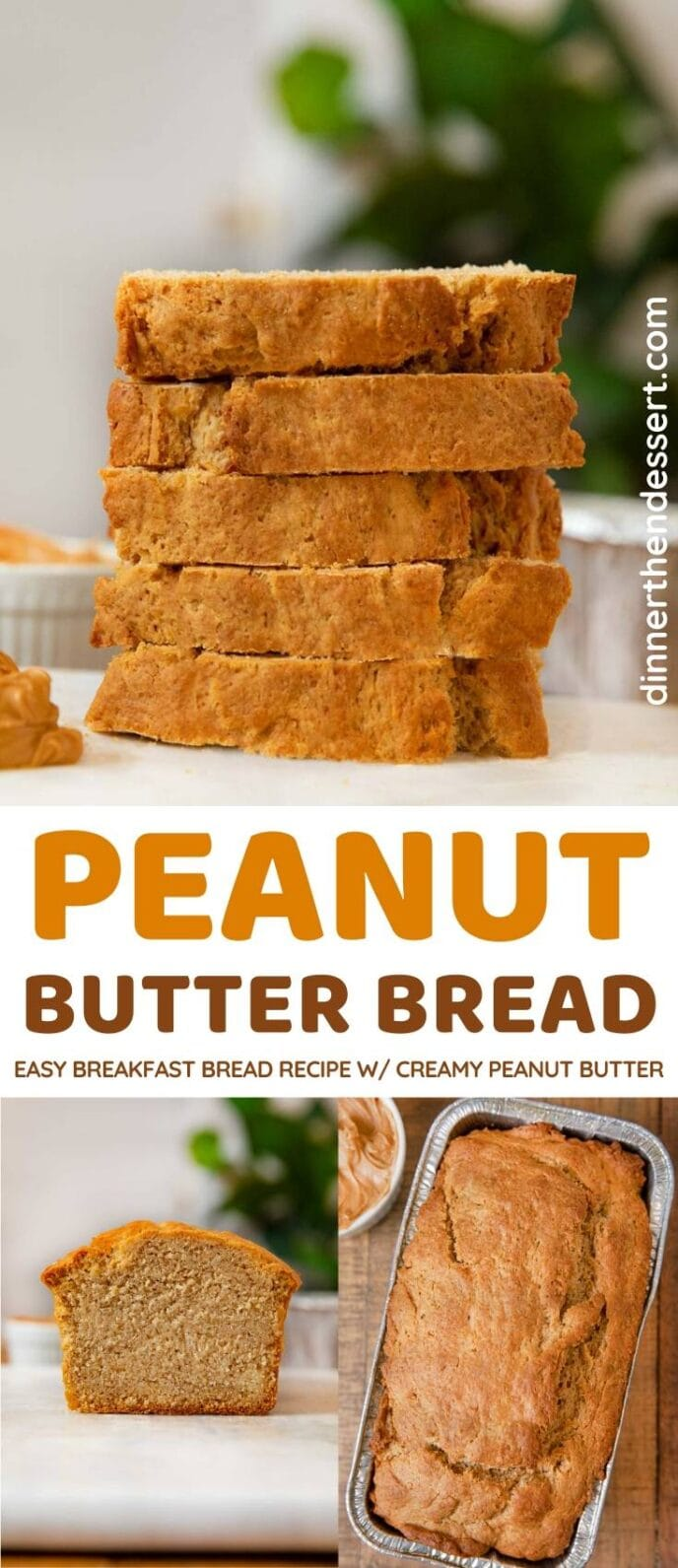 Peanut Butter Bread collage