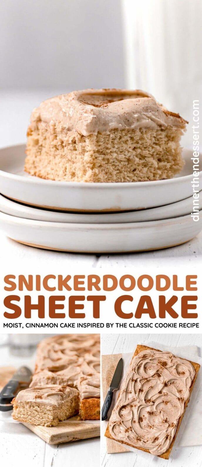 Snickerdoodle Sheet Cake