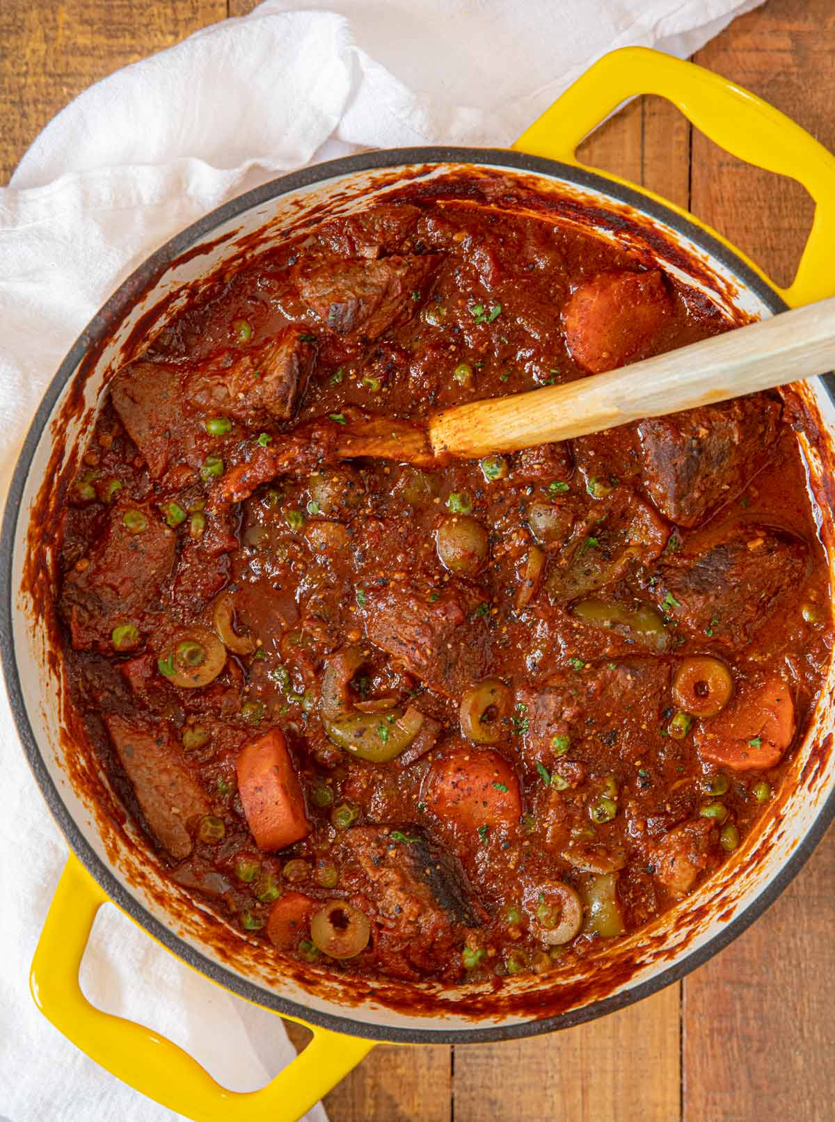 Spanish Beef Stew Recipe Dinner Then Dessert