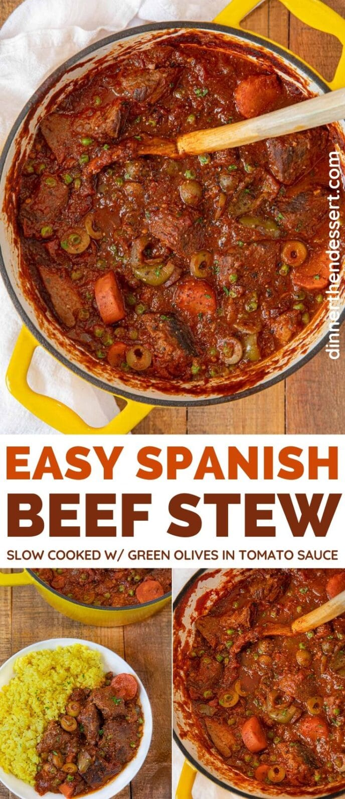 Spanish Beef Stew collage