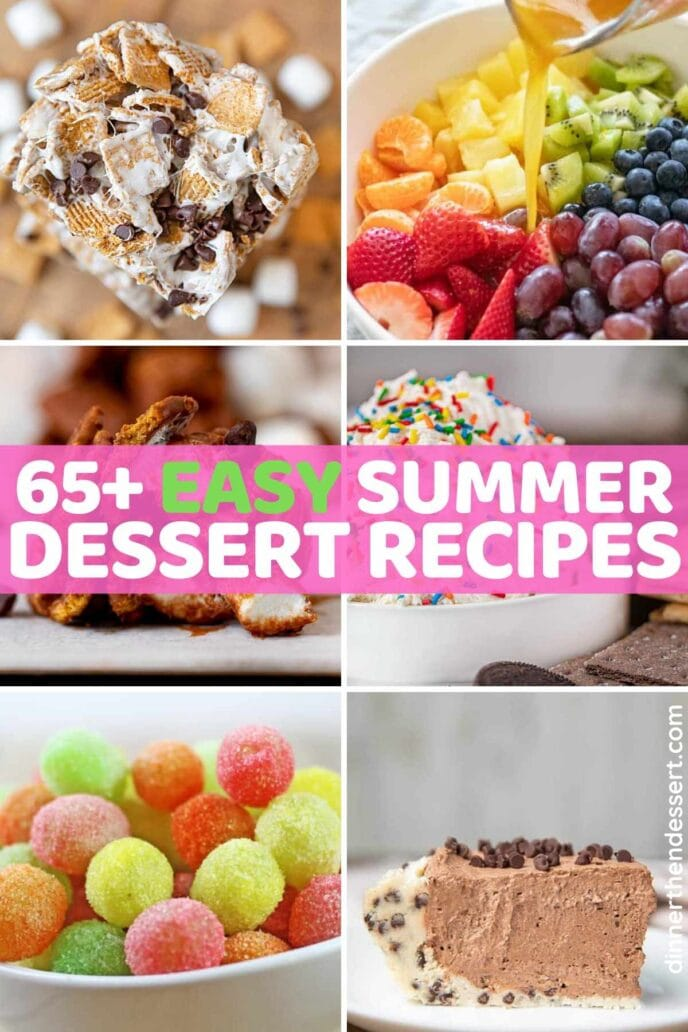 65 Easy Summer Dessert Recipes Dinner Then Dessert