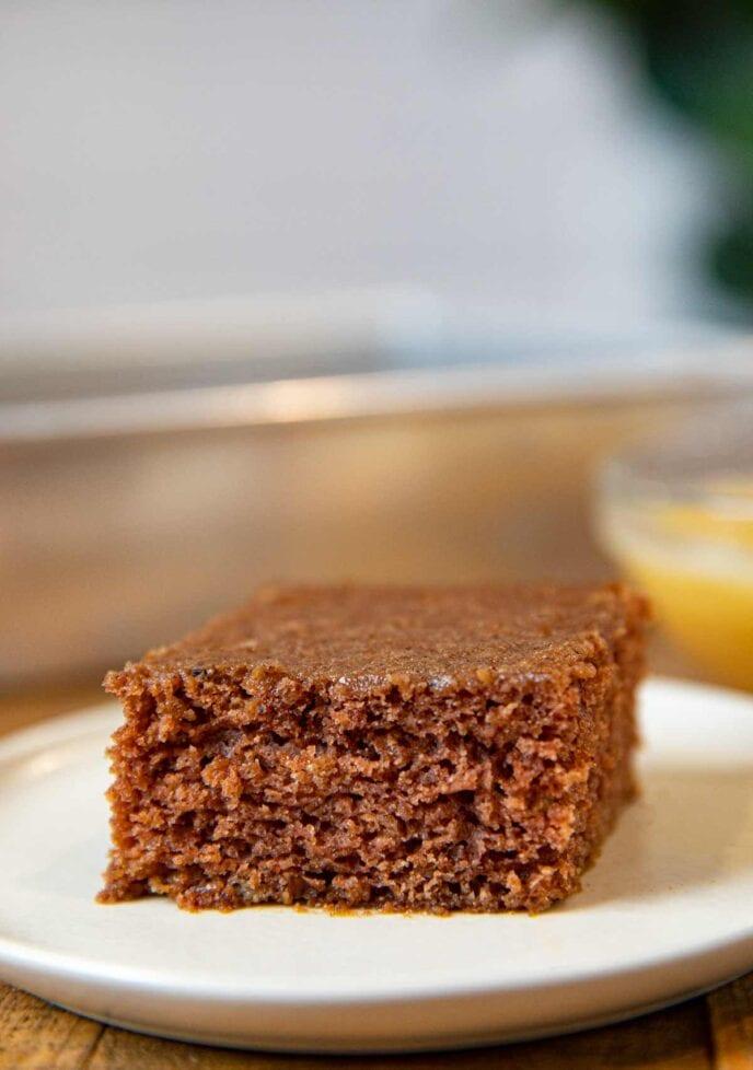 Applesauce Cake on plate