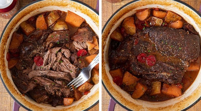 Photo of Dr. Pepper Pot Roast Recipe – Dinner, then Dessert
