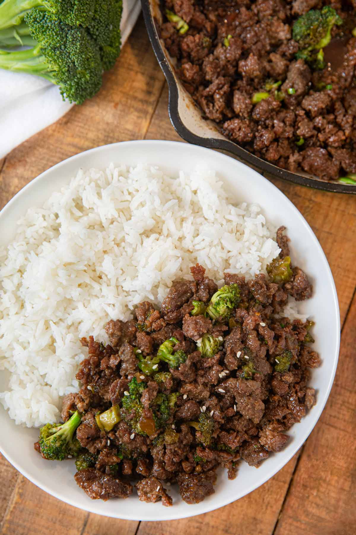 Ground Beef And Broccoli Recipe Dinner Then Dessert