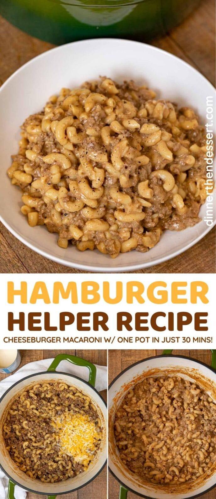 Hamburger Helper Collage