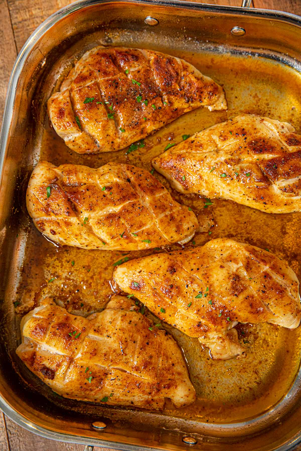 Oven Baked Rotisserie Chicken Breasts Recipe Dinner Then Dessert